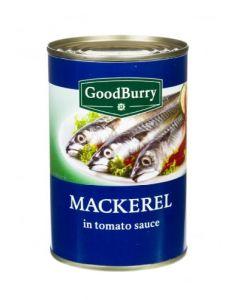 GOODBURRY MACKEREL IN TOMATO SAUCE - 425GR