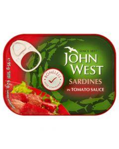 JOHN WEST SARDINES IN TOMATO SAUCE - 120GR