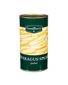 GOODBURRY ASPARAGUS SPEARS CUT - 800GR