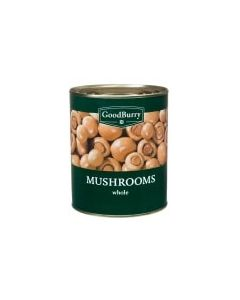 GOODBURRY WHOLE MUSHROOMS - 800GR