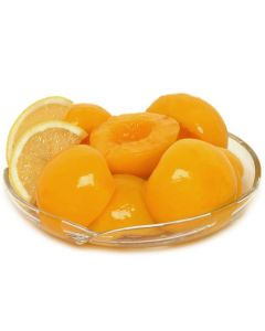 PEACHES HALVES IN SYRUP - 820GR