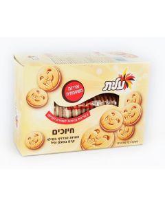SMILES SANDWICH COOKIES VANILLA FLAVOR - 900GR