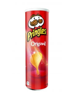 PRINGLES ORIGINAL FLAVOUR POTATO CRISPS - 150/165GR