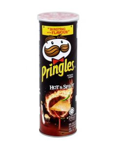 PRINGLES HOT POTATO CRISPS - 150/165GR