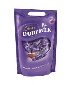 CADBURY DAIRY MILK CHUNKS POUCH CHOCOLATE - 400GR