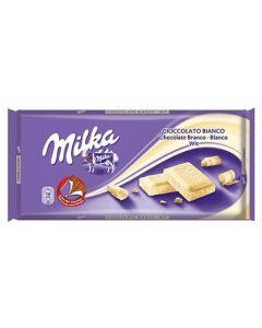 MILKA WHITE TABLET - 100GR