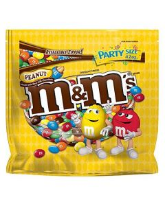 M&M PEANUTS XL POUCH - 440GR