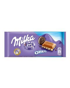 MILKA MILK CHOCOLATE OREO - 100GR
