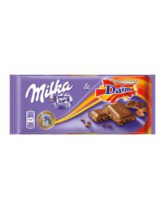 MILKA MILK CHOCOLATE DAIM - 100GR