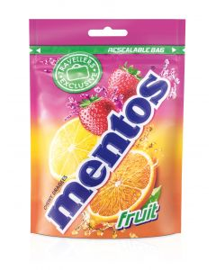 MENTOS FRUIT POUCH BAG