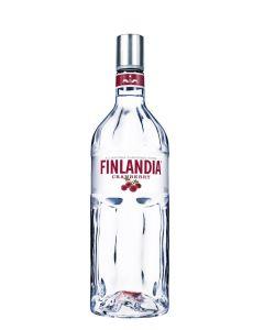 FINLANDIA CLEAR CRANBERRY VODKA - 100CL