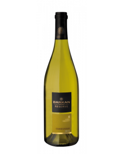 BARKAN RESERVE CHARDONNAY DRY WHITE WINE - 75CL