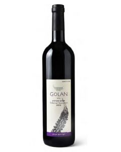 GOLAN CABERNET SAUVIGNON DRY RED WINE - 75CL