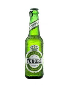 TUBORG BEER GREEN IN BOTTLES [24X33CL]