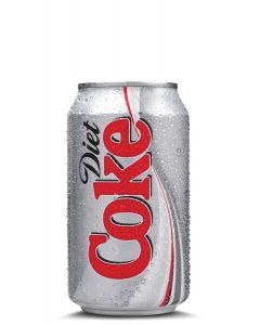 COCA COLA DIET IN CANS - 24X33CL