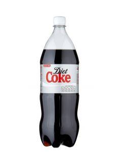 DIET COCA COLA IN PLASTIC BOTTLES