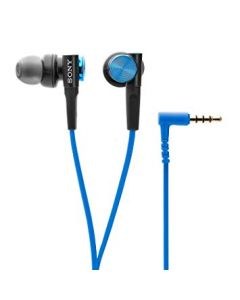 SONY HEADSET EAR CANAL REMOTE BLUE MDR-XB50APL