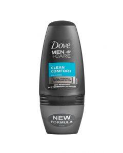 DOVE ROLL-ON DEO MEN CLEAN COMFORT - 50ML