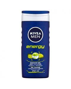 NIVEA SHOWER GEL ENERGY MAN - 250ML