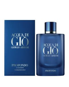 ARMANI ACQUA DI GIO PROFONDO EDP SPRAY  REF.865235  @125ML.BOT