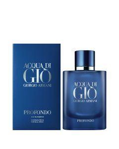 ARMANI ACQUA DI GIO PROFONDO EDP SPRAY REF.865228  @75ML.BOT