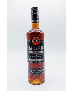 BACARDI RUM PREMIUM BLACK  40%  @0.75 CL.BOT.