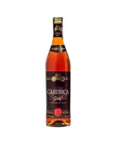 CARIBICA GOLD  CARIBBEAN RUM 37.5%  @0.7 LIT