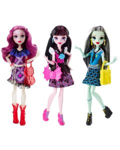 MONSTER HIGH FASHION OUTFIT FIGURE