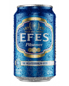 EFES BEER IN CANS [24X33CL]