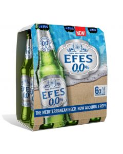 EFES NON ALCOHOL BEER IN BOTTLES [24X33CL]  @1CASE