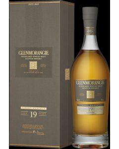 GLENMORANGIE 19 YEARS OLD SINGLE MALT WHISKY 43% GIFT BOX@70 CL  BTL