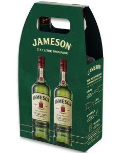 JOHN JAMESON IRISH WHISKY T/P TWIN PACK 40% @2X100CL.BOT.