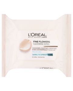 L'OREAL SKIN EXPERT CLEANSER WIPES 25CT REF.457984@1PK