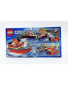 LEGO CITY DOCK SIDE FIRE RE. 60213