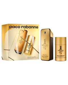 PACO RABANNE 1 MILLION EDT 100ML + DEO STICK 75ML SET REF.598809@1SET