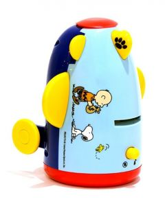 SNOOPY AEROSAVER MONEY BOX WITH CLOCK