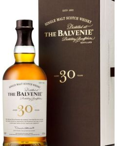 THE BALVENIE 40 YEARS  48.5% @70 CL BOT