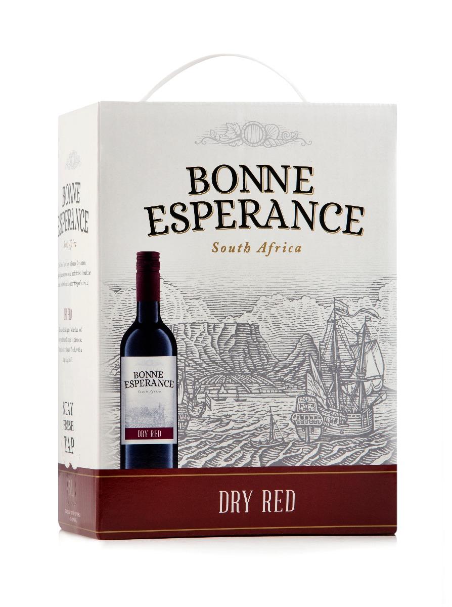 KWV BONNE ESPERANCE RED WINE - 5LT
