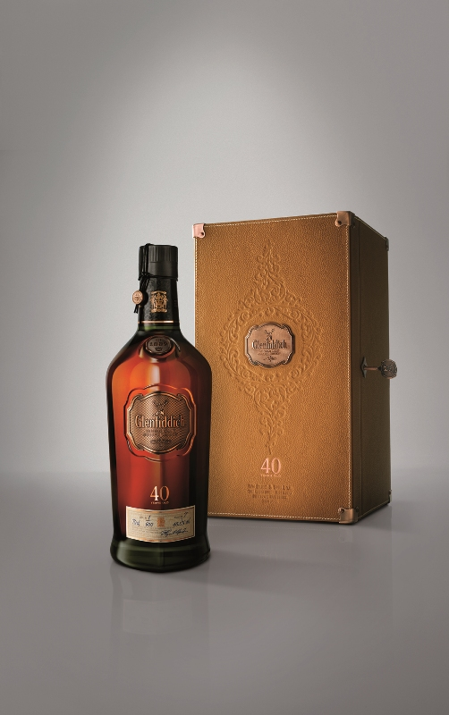 GLENFIDDICH  40 YEARS OLD 47.8% @70CL. BOT