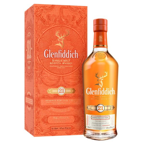 GLENFIDDICH 21 YEARS OLD 43.2% @70 CL.BOT