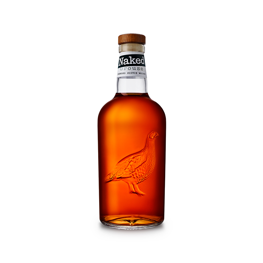 THE FAMOUS GROUSE NAKED GROUSE SCOTCH WHISKY 40% @100CL.BOT