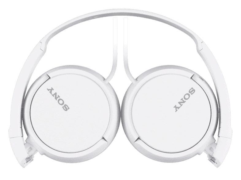 SONY HEADSET ON EAR FOLDABLE WHITE MDR-ZX110W