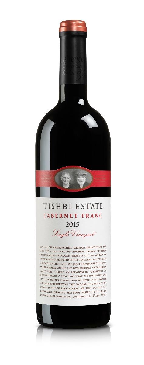 TISHBI ESTATE CABERNET FRANC SINGLE VINEYARD  RED WINE@75 CL BOT