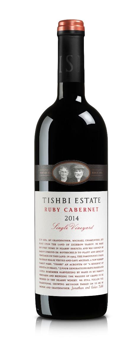 TISHBI ESTATE RUBY CABERNET SINGLE VINEYARD  RED WINE@75 CL BOT