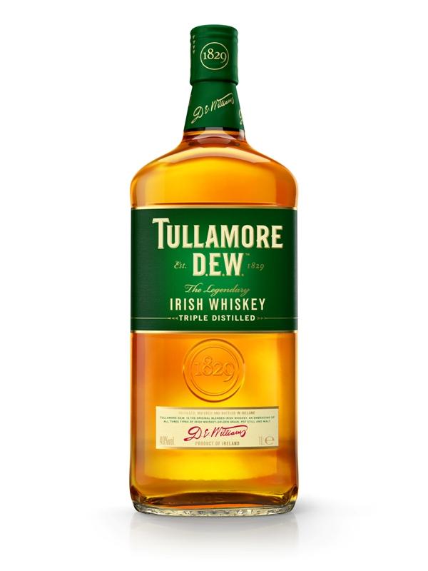 TULLAMORE DEW IRISH WHISKEY 40%  @100CL.BOT