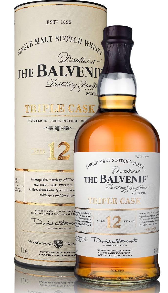 THE BALVENIE 12 YEARS TRIPLE CASK - 100CL